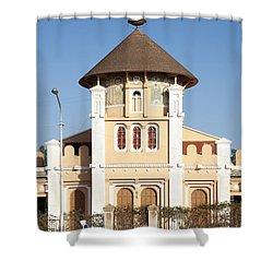 enda Mariam cathedral in asmara eritrea Shower Curtain