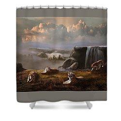 Endangered Shower Curtain