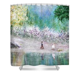 Endless Day Shower Curtain by Kume Bryant
