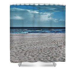 Endless Day Shower Curtain by Stelios Kleanthous