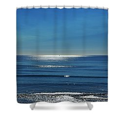 Endless Ocean  Shower Curtain