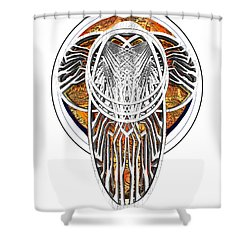Endomay B 7 Shower Curtain