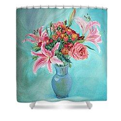 Enduring Love Bouquet Shower Curtain