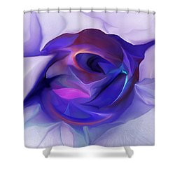 Energing Artist Shower Curtain by David Lane