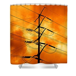 Energized Shower Curtain by Don Spenner