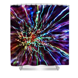 Energy 2 - Abstract Shower Curtain