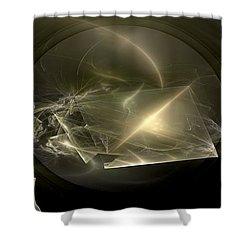Energy Breaks Shower Curtain by Peter R Nicholls
