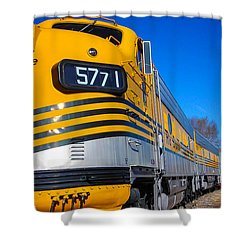 Shower Curtain featuring the photograph Engine 5771 by Shannon Harrington