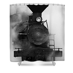 Engine No. 6 Shower Curtain by Jerry Fornarotto
