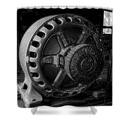 Engine Of A Mad Scientist Shower Curtain by David Lee Thompson