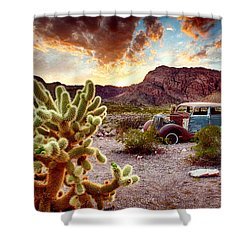 Engine Trouble Shower Curtain