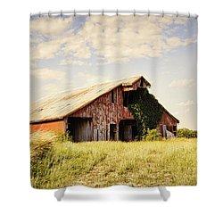 Englewood Barn Shower Curtain