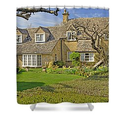 English Cottage Shower Curtain