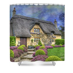 English Country Cottage Shower Curtain