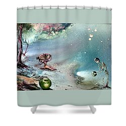 Enigma Shower Curtain