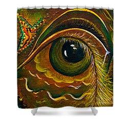 Enigma Spirit Eye Shower Curtain