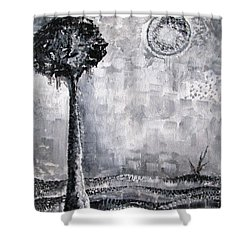 Enigmatic Shower Curtain by Prajakta P