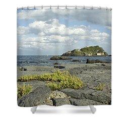 Enjoy The Silence Shower Curtain by Donato Iannuzzi