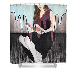 Enlightenment Shower Curtain by Lynet McDonald