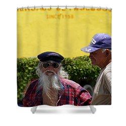 Ensenada Harbour And Fish Market 32 Shower Curtain