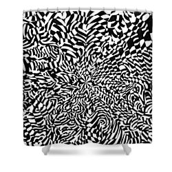 Entangle Shower Curtain