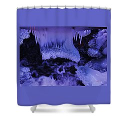 Shower Curtain featuring the photograph Enter The Lair by Sean Sarsfield