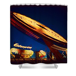 Enterprise Shower Curtain by Don Spenner