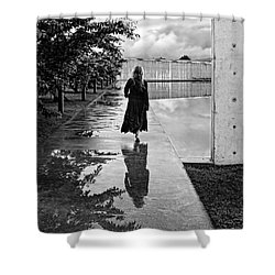 Entrance Shower Curtain