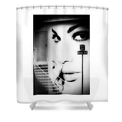 Entrance To A Woman's Mind Shower Curtain