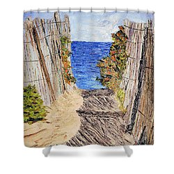 Entrance To Summer Shower Curtain