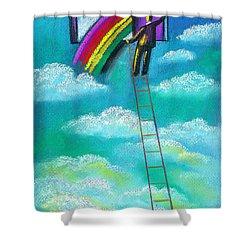 Entrepreneur Shower Curtain by Leon Zernitsky