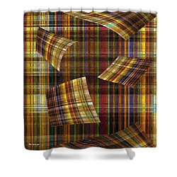 Entropy Shower Curtain by RC deWinter