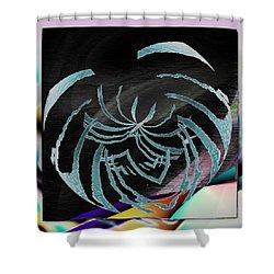 Enveloped 9 Shower Curtain by Tim Allen