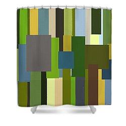 Envious Shower Curtain by Lourry Legarde