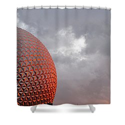 Epcot Shower Curtain