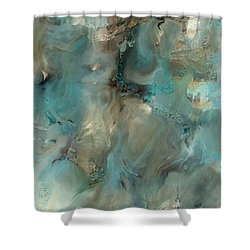 Ephesians 6 18. Vital Intercession Shower Curtain by Mark Lawrence