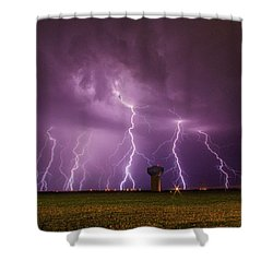 Epic Lightning Shower Curtain