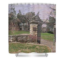 Epperson House House On The Hill Shower Curtain