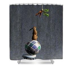 Equilibrium II Shower Curtain