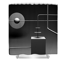 Equinox  Shower Curtain by Richard Rizzo