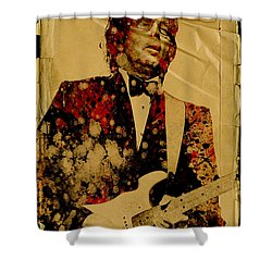 Eric Clapton 2 Shower Curtain