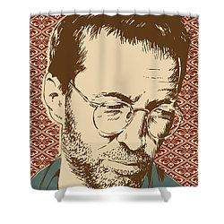 Eric Clapton Shower Curtain by Jim Zahniser