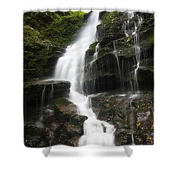 Erie Falls Shower Curtain