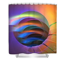 Erinome Shower Curtain by Kim Sy Ok