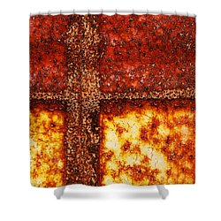 Shower Curtain featuring the photograph Erosion by Wendy Wilton