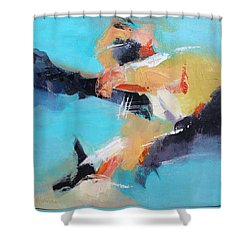 Eruption 2 Shower Curtain