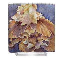 Eruption II--flower Of Rebirth Shower Curtain