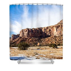 Escalante Canyon Shower Curtain
