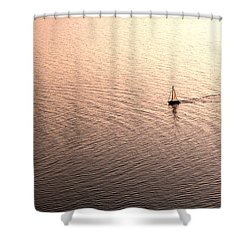 Escape Shower Curtain by Lana Enderle