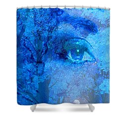 Escape Shower Curtain by Matthew Lacey
